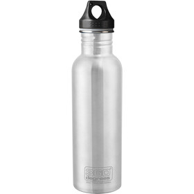 360° degrees Stainless Drink Bottle 750ml, steel